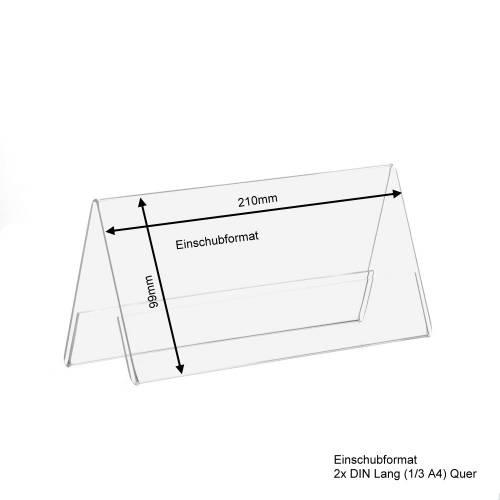 din lang quer a aufsteller werbeaufsteller. Black Bedroom Furniture Sets. Home Design Ideas