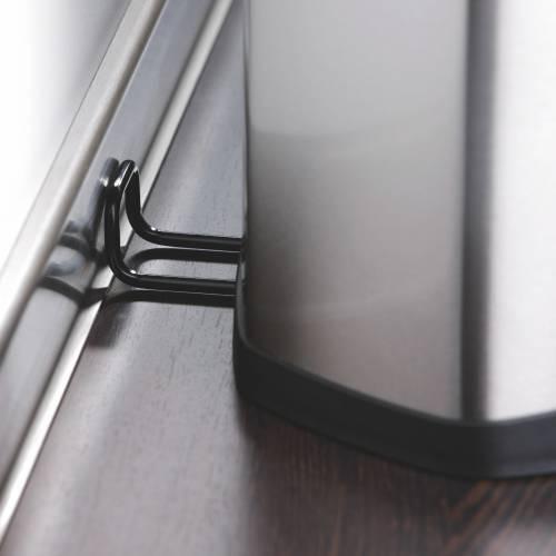 30 liter design tretabfalleimer aus edelstahl. Black Bedroom Furniture Sets. Home Design Ideas