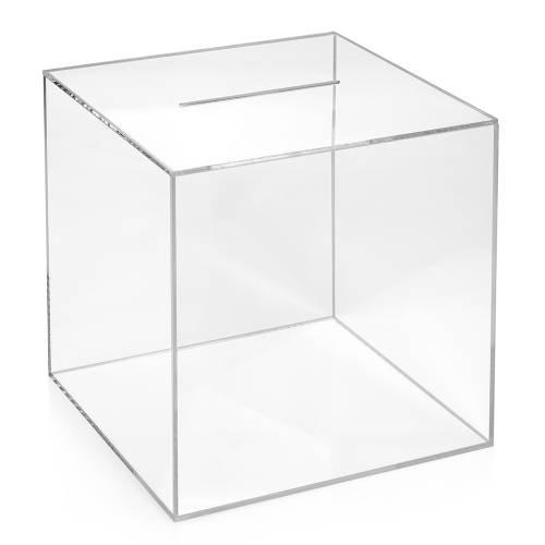 losbox aktionsbox 30x30x30cm aus acrylglas. Black Bedroom Furniture Sets. Home Design Ideas