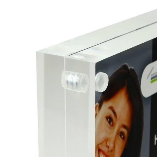 magnet fotorahmen din a5 acrylglas 30mm. Black Bedroom Furniture Sets. Home Design Ideas