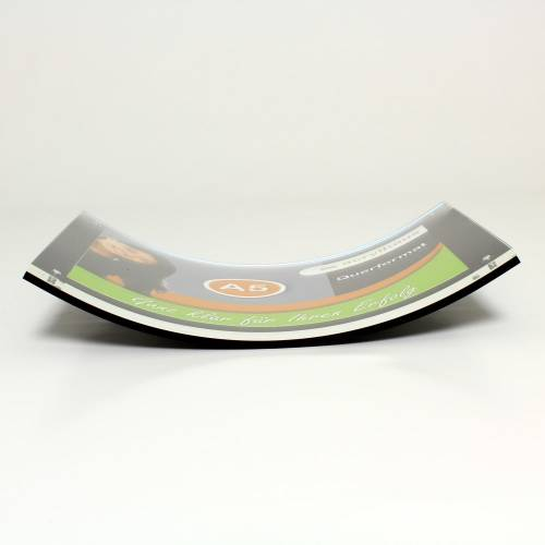 magnet bilderrahmen aus acryl din a4 quer. Black Bedroom Furniture Sets. Home Design Ideas