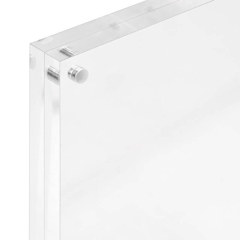 magnet bilderrahmen din a6 aus acrylglas. Black Bedroom Furniture Sets. Home Design Ideas